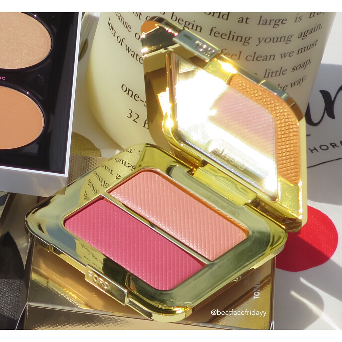 Tom Ford Bicoastal Sheer Cheek Duo Swatch