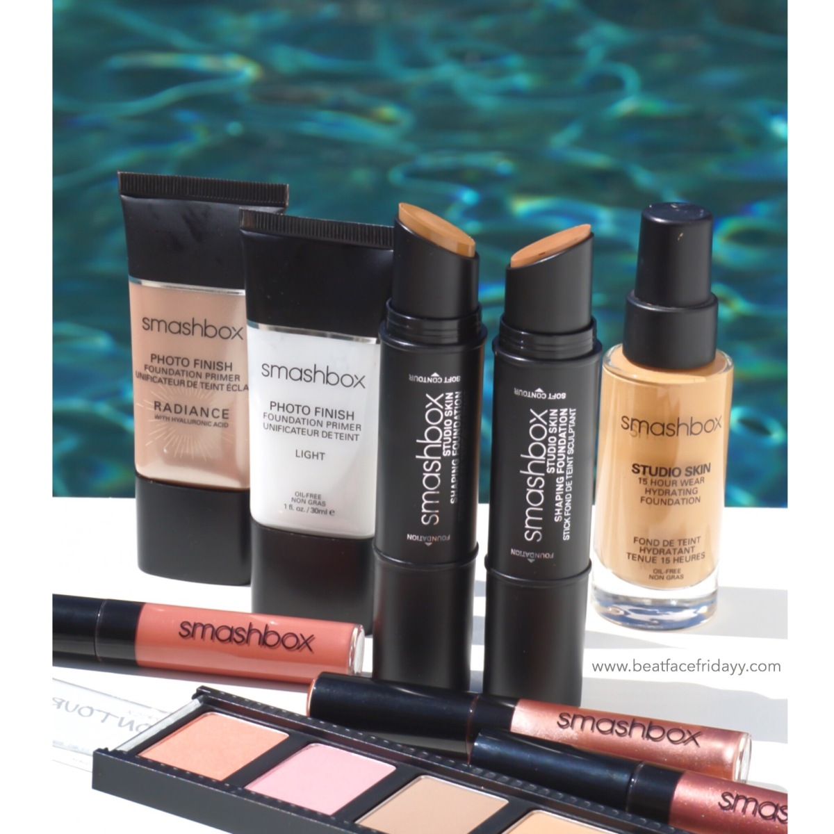 SMASHBOX Studio Skin Shaping Stick Double-Ended Foundation Contour Swatches 0.5, 1.0, 1.1, 1.2, 2.1, 2.2, 2.3, 2.4, 3.0, 3.1, 3.2, 3.3, 4.0, 4.1, 4.2, 4.3 (Sneak Peek)